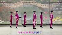 段希帆广场舞 《花桥流水》 原创鬼步舞风格附背面教学经典正背面演示及口令分解动作教学