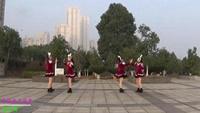 撫州左岸風情廣場舞原創《兔子舞》對跳版附分解演示正背面演示及慢速口令教學