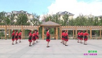 永吉北江美舞蹈隊廣場舞 啞巴新娘 表演 團隊版 正反面演示及分解動作教學