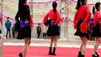 华红英广场舞拜新年口令分解动作教学