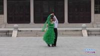 固始县姐妹花舞队广场舞 走进新时代 表演 双人版