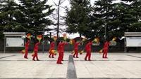 華峰鄉馬村文化大院廣場舞 啞巴新娘 表演 正背面演示及口令分解動作教學