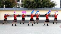 襄阳金紫薇—七音符舞队《吉祥中国年》原创:小帅正背面演示及慢速口令教学