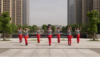安徽蚌埠莉之舞2012舞蹈队舞蹈 心里藏着你 表演 团队版 完整版演示及口令分解动作教学