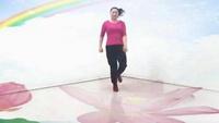 挚爱广场鬼步曳舞 61步 久别的人正背面演示及口令分解动作教学和背面演