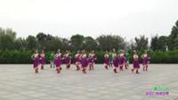信阳市老干局歌舞队广场舞 唐古拉风 表演 团队版