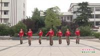 武漢新洲孔埠君君健身隊廣場舞   借點情借點愛 表演 團隊版 完整版演示及口令分解動作教學