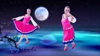 江西高安飞扬广场舞 月光下的美人 表演 个人版 原创附正背面教学口令分解动作演示