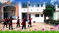鄱阳湖湿地公园阿伟广场舞原创《凤凰飞》双人舞附正背面口令分解教学演示
