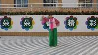 深圳嬌嬌廣場舞《國韻》原創附正背面教學口令分解動作演示