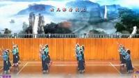 岳陽瓊之舞隊《穿行》制作:紫精靈經典正背面演示及口令分解動作教學