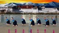 洛陽姐妹花廣場舞《穿行》 編舞:応子完整版演示及分解教學演示