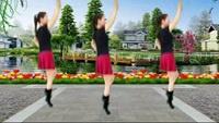 茅草街李畅群广场舞【溜溜的姑娘像朵花】完整版演示及分解教学演示