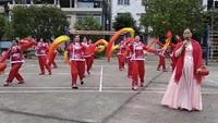 1318008枫木塘广场舞《拜新年》正背面演示及慢速口令教学