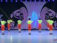 河北廊坊星月廣場舞 五環之歌 背面展示