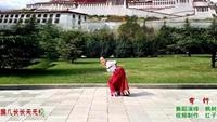 楓樹葉廣場舞《穿行》視頻制作:紅子玉口令分解動作教學