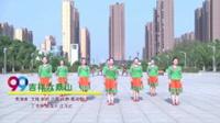 蒙城绿茶飞舞广场舞 吉祥六鼎山 表演