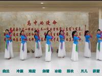 安徽繁舞飞韵广场舞 好一朵女人花  团队表演