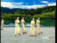 杨艺舞蹈 浏阳河 表演 正背面演示及慢速口令教学
