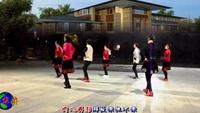 金华广场舞 哎呀呀 32步团队版附正背表演口令分解动作分解教学