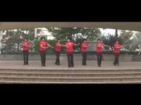 蘭悅之星廣場舞 馬背情歌 表演