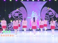 北京加州飞龙广场舞 唱北京 背面展示