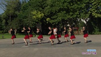 长青街舞之韵舞蹈队一队舞蹈 阿哥阿妹 表演 团队版 正背面演示及慢速口令教学