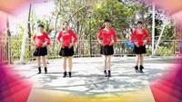 快乐飞舞广场舞《唐古拉》正背面口令分解动作教学演示