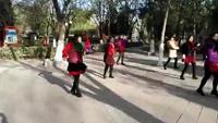 翡翠姐姐舞友晨練《冰雪天堂》正背面演示及慢速口令教學