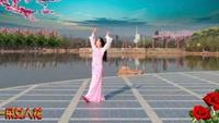 云南茉莉花广场舞《好一朵女人花》编舞:饶子龙正反面演示及分解动作教学