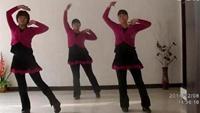 周村廣場舞《我愛廣場舞》編舞春英完整版演示及分解教學演示