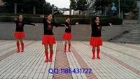 榮州玲子廣場舞《北風吹又吹》單人水兵舞正背面演示正背面演示及慢速口令教學