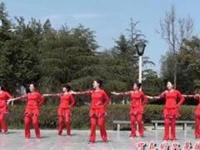 茉莉广场舞《一见钟情》原创现代舞 附正背面口令分解动作教学演示