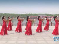 陕西华州小丫广场舞 好一朵女人花 正面表演