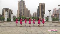 新余渝水抱石湖佳木斯队舞蹈   今生最美的遇见 表演 团队版 附正背表演口令分解动作分解教学