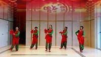 潍坊馨雨广场舞《拜新年》慧慧编舞正背面口令分解动作教学演示