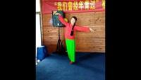葉子廣場舞《北風吹》完整版演示及口令分解動作教學