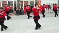 注沟西马戈庄广场舞队《拜新年》完整版演示及口令分解动作教学