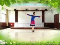 王梅舞蹈 吉祥六鼎山 正背表演与动作分解