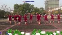 江苏溧阳悦心广场舞《你不来我不老》编舞:茉莉正背面演示及口令分解动作教学