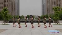 安徽蚌埠光彩青春舞蹈队广场舞 重要的事情说三遍 表演 团队版 口令分解动作教学
