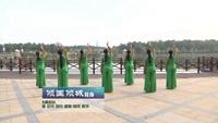 江西高安飞扬广场舞 倾国倾城 背面展示 完整版演示及口令分解动作教学