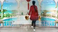 安阳火凤凰广场舞《拜新年》编舞:霓裳羽衣完整版演示及分解教学演示