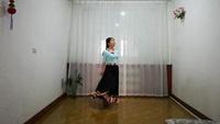 清荷习舞《唐古拉》编舞;饶子龙原创附教学口令分解动作演示