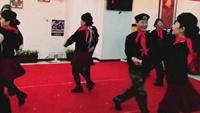 水兵舞《新浏阳河》口令分解动作教学