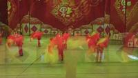丽娅群芳广场舞 好日子 表演 正背面演示及口令分解动作教学和背面演