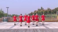 宿州汴河街道劲炫舞团广场舞 【张灯结彩】 表演 团队版