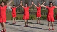 澂江广场舞沙坝映山红广场舞队《美美哒》正反面演示及分解动作教学