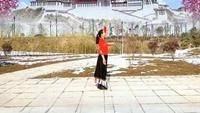 渭南梅西广场舞《走出空城走不出想念》口令分解动作教学