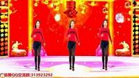 金社广场舞简单鬼步舞《拜新年》原创附分解附正背面口令分解教学演示